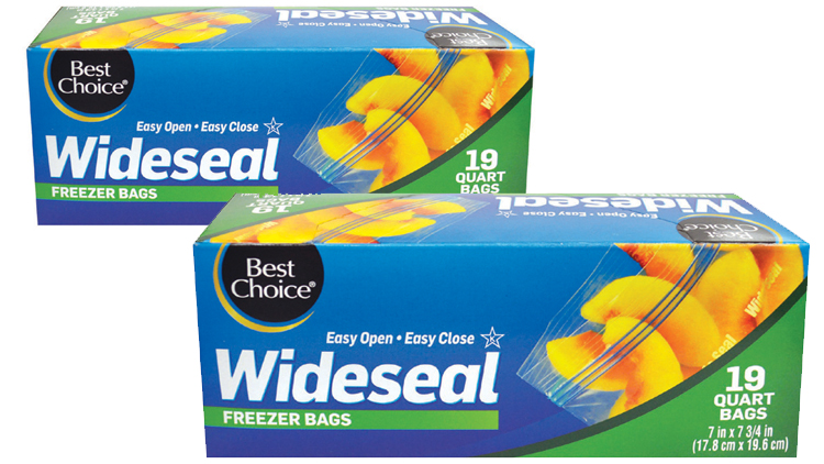 Picture of Best Choice Freezer or Storage Bags
