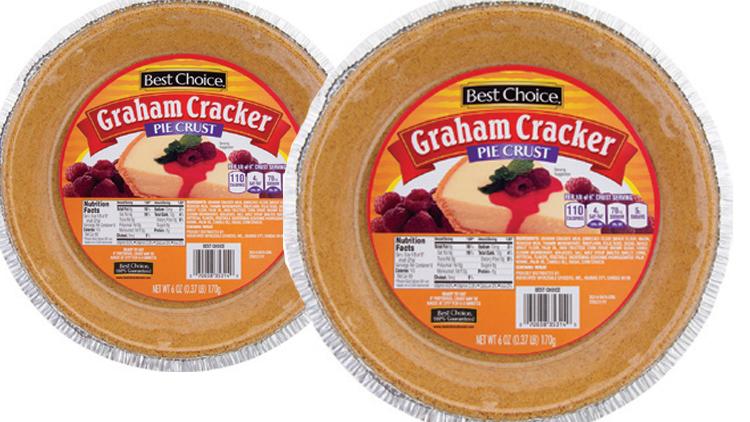 Picture of Best Choice Graham Cracker Pie Crust