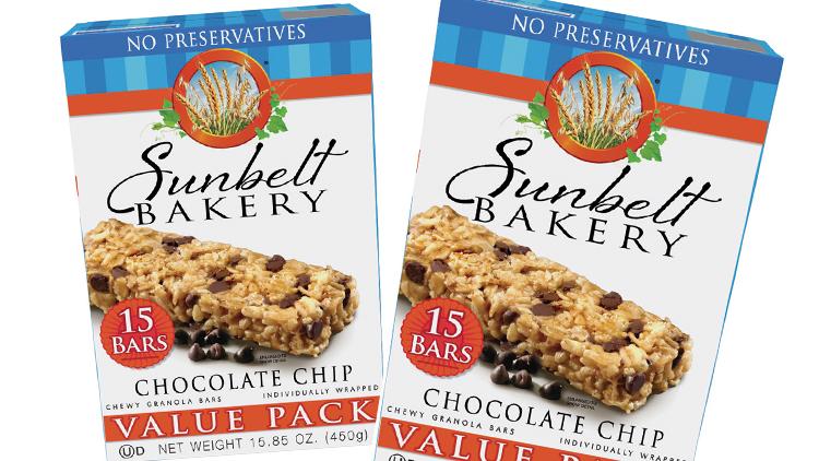 Picture of Sunbelt Bakery Granola Bars