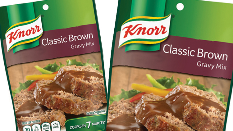Picture of Knorr Classic Brown or Roasted Turkey Gravy Mix