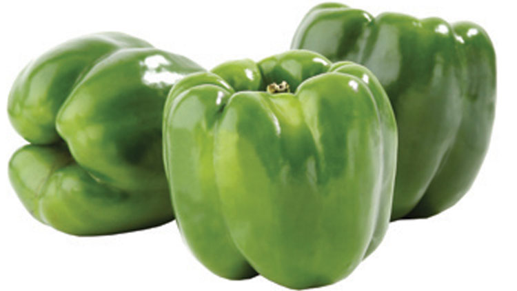 Picture of Extra Large Green Bell Peppers