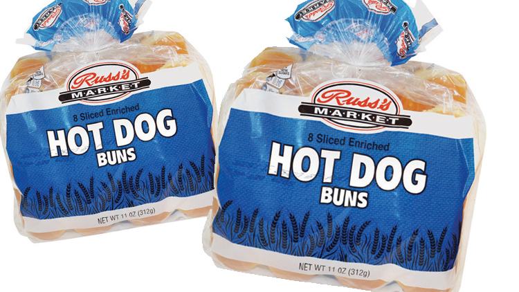 Picture of Russ's Market Hamburger or Hot Dog Buns