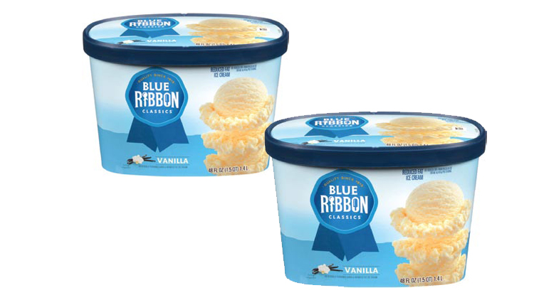 Picture of Blue Ribbon Classics Ice Cream or Sherbet