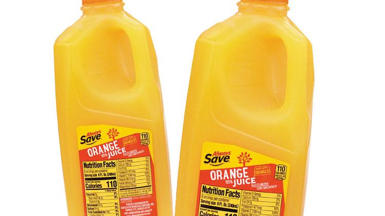 Picture of Always Save Orange Juice