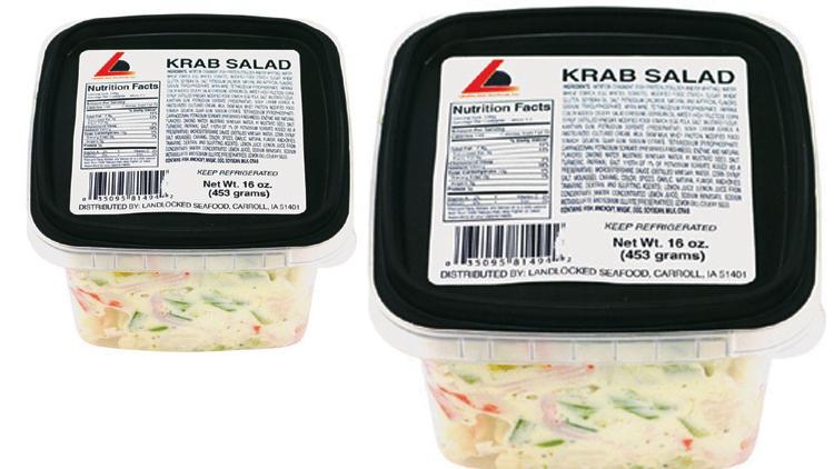 Picture of Landlocked Seafoods Fresh Krab Salad