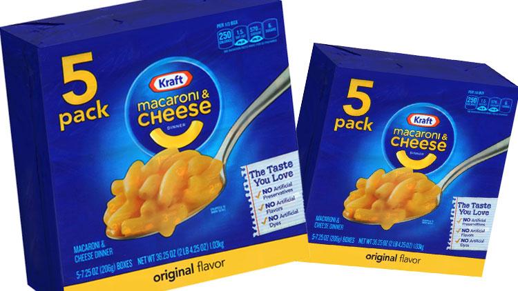 Picture of Kraft Original Macaroni & Cheese Dinner