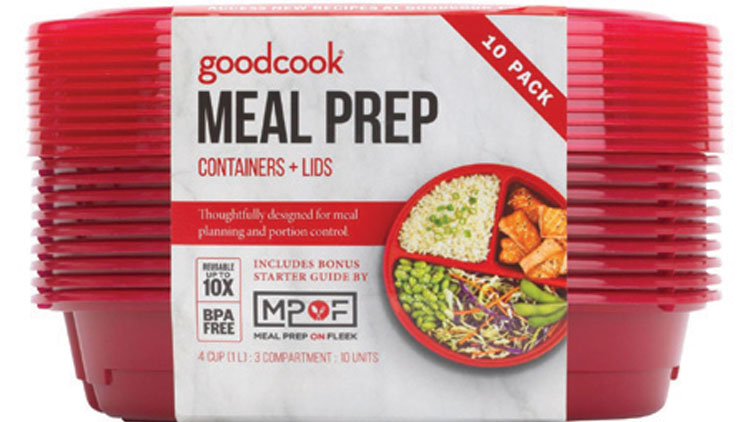 Picture of Good Cook Meal Prep Containers & Lids