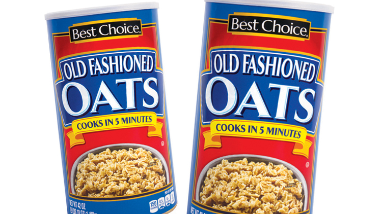 Picture of Best Choice Old Fashioned or Quick Oats