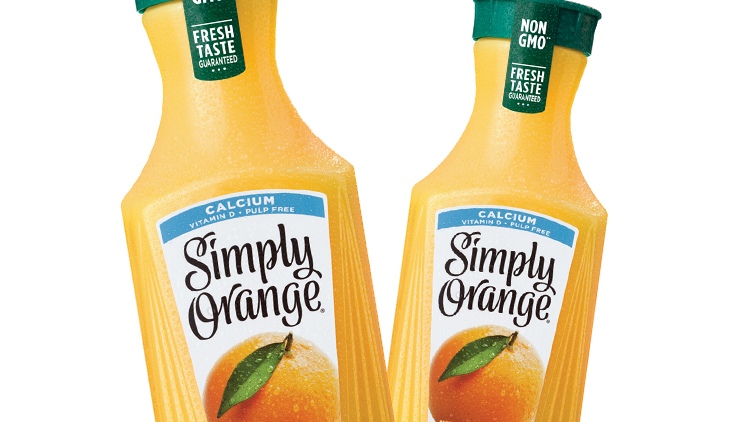 Picture of Simply Orange Juice or Smoothie