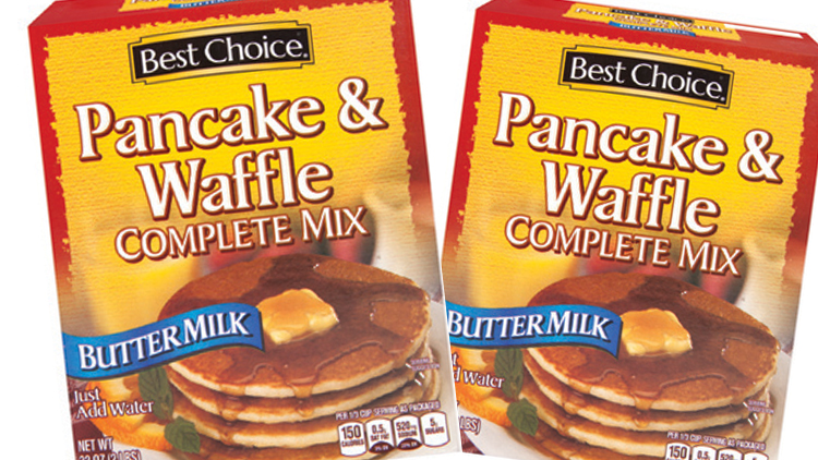 Picture of Best Choice Pancake & Waffle Complete Mix