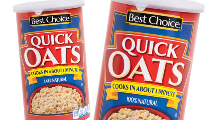 Picture of Best Choice Quick Oats