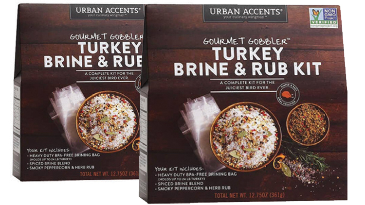 Picture of Urban Accents Gourmet Gobbler Turkey Brine & Rub Kit