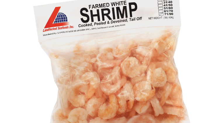 Picture of Landlocked Seafoods Tail-Off Cooked Shrimp