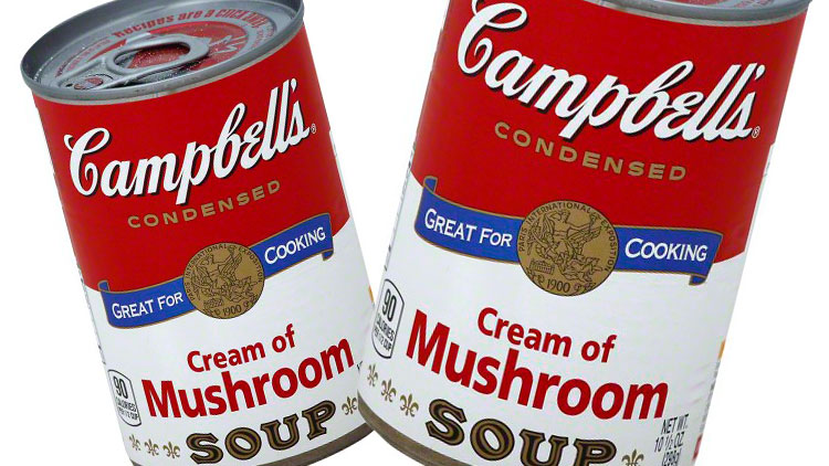 Picture of Campbell's Cream of Chicken or Cream of Mushroom Soup