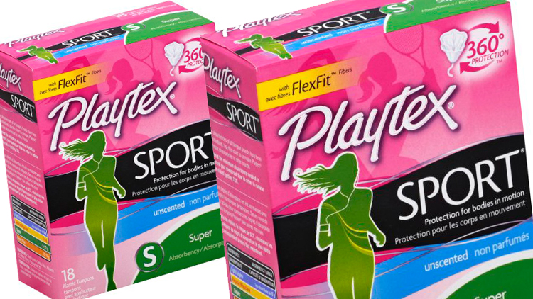 Picture of Playtex Sport or Simply Gentle Glide Tampons