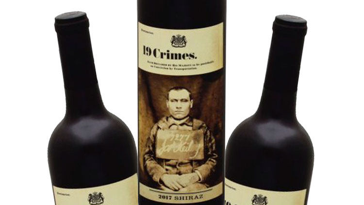 Picture of 19 Crimes Wine